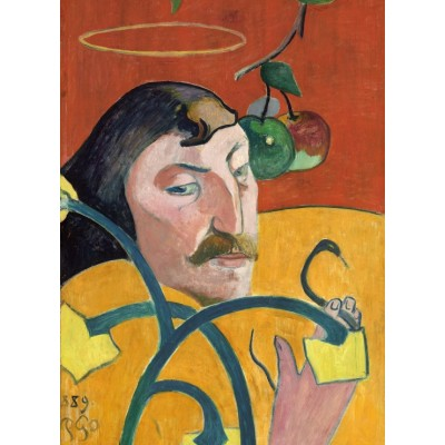 grafika-Puzzle - 300 pieces - Paul Gauguin: Self-Portrait, 1889