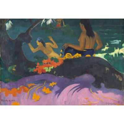 grafika-Puzzle - 1000 pieces - Paul Gauguin: Fatata te Miti (By the Sea), 1892