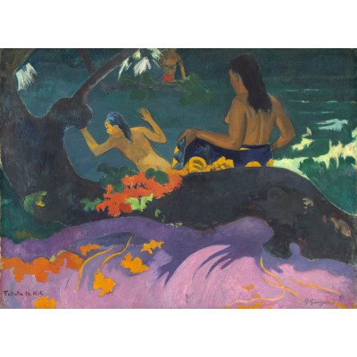 grafika-Puzzle - 300 pieces - Paul Gauguin: Fatata te Miti (By the Sea), 1892