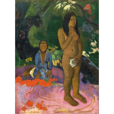 grafika-Puzzle - 2000 pieces - Paul Gauguin: Parau na te Varua ino (Words of the Devil), 1892