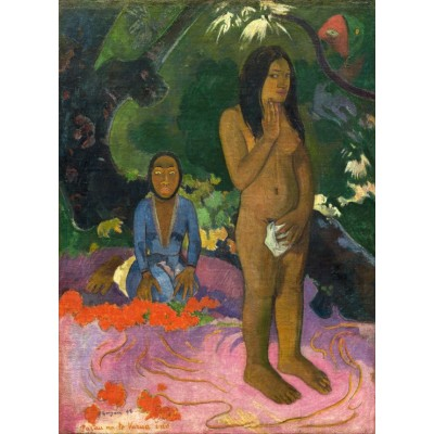 grafika-Puzzle - 300 pieces - Paul Gauguin: Parau na te Varua ino (Words of the Devil), 1892