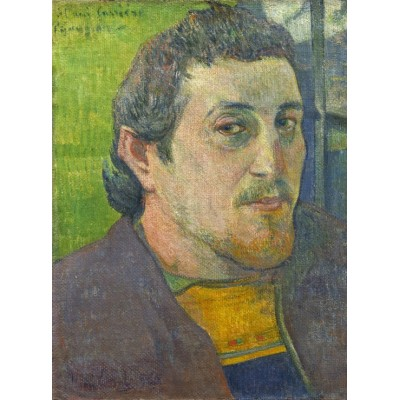 grafika-Puzzle - 2000 pieces - Paul Gauguin: Self-Portrait Dedicated to Carrière, 1888-1889