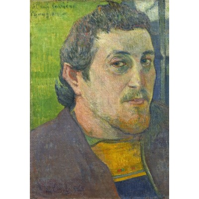 grafika-Puzzle - 1000 pieces - Paul Gauguin: Self-Portrait Dedicated to Carrière, 1888-1889
