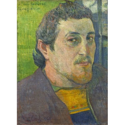 grafika-Puzzle - 300 pieces - Paul Gauguin: Self-Portrait Dedicated to Carrière, 1888-1889