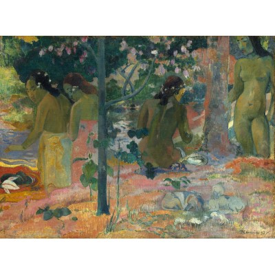 grafika-Puzzle - 2000 pieces - Paul Gauguin : The Bathers, 1897