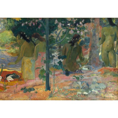 grafika-Puzzle - 1000 pieces - Paul Gauguin : The Bathers, 1897