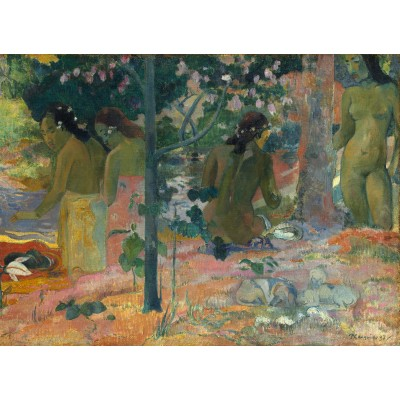 grafika-Puzzle - 300 pieces - Paul Gauguin : The Bathers, 1897