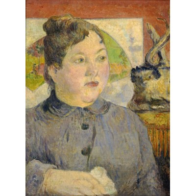 grafika-Puzzle - 2000 pieces - Paul Gauguin: Madame Alexandre Kohler, 1887-1888