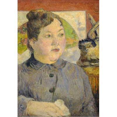 grafika-Puzzle - 1000 pieces - Paul Gauguin: Madame Alexandre Kohler, 1887-1888