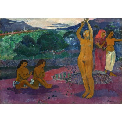 grafika-Puzzle - 1000 pieces - Paul Gauguin: The Invocation, 1903
