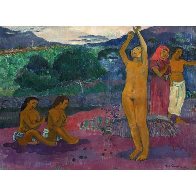 grafika-Puzzle - 300 pieces - Paul Gauguin: The Invocation, 1903