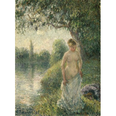 grafika-Puzzle - 2000 pieces - Pissarro Camille: The Bather, 1895