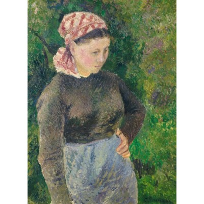 grafika-Puzzle - 300 pieces - Camille Pissarro: Peasant Woman, 1880