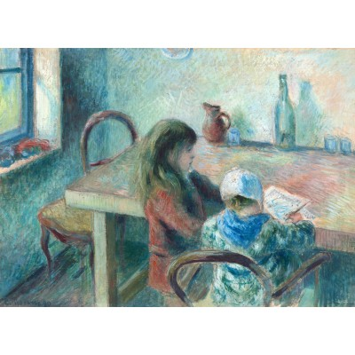 grafika-Puzzle - 300 pieces - Camille Pissarro: The Children, 1880