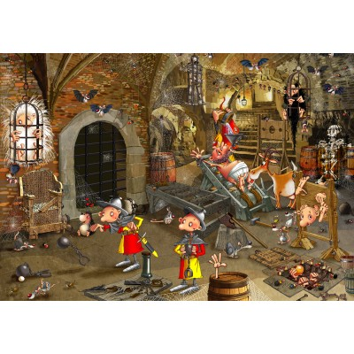 grafika-Puzzle - 1000 pieces - François Ruyer: Dungeon