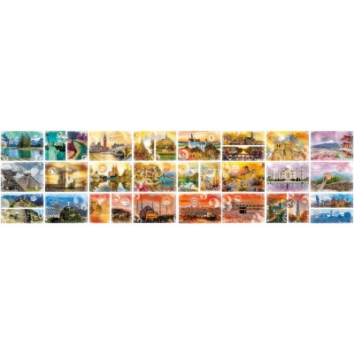 Puzzle  Grafika-02199 Travel around the World