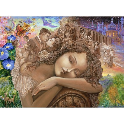 grafika-Puzzle - 2000 pieces - Josephine Wall - If Only