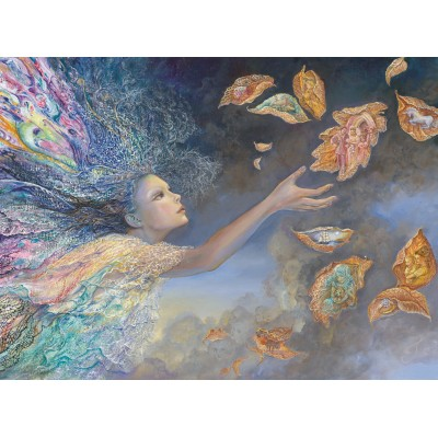 grafika-Puzzle - 2000 pieces - Josephine Wall - Catching Wishes
