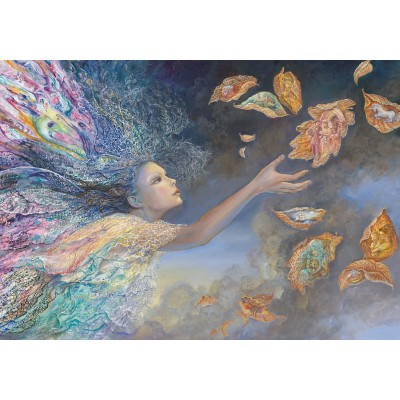 grafika-Puzzle - 1000 pieces - Josephine Wall - Catching Wishes