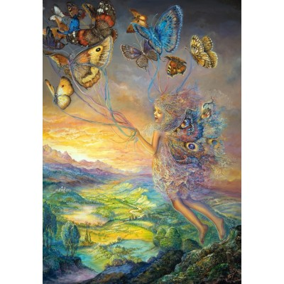 grafika-Puzzle - 1000 pieces - Josephine Wall - Up and Away