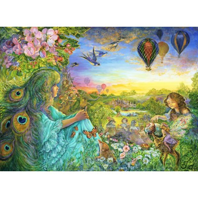 grafika-Puzzle - 300 pieces - Josephine Wall - Daydreaming
