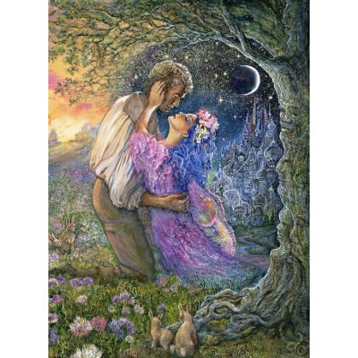 grafika-Puzzle - 300 pieces - Josephine Wall - Love Between Dimensions