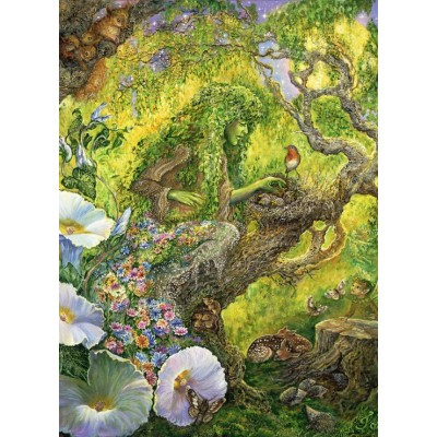 grafika-Puzzle - 300 pieces - Josephine Wall - Forest Protector