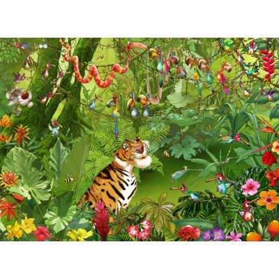 grafika-Puzzle - 300 pieces - François Ruyer - Jungle