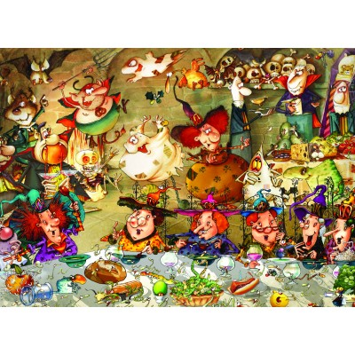 grafika-Puzzle - 300 pieces - François Ruyer - Witches