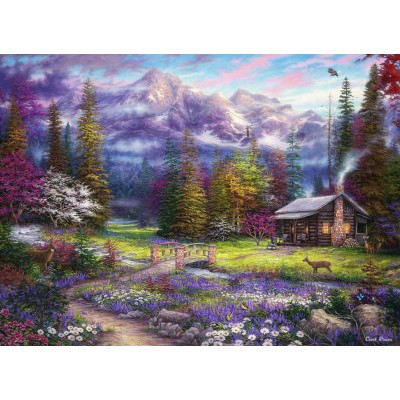 grafika-Puzzle - 300 pieces - Chuck Pinson - Inspiration of Spring Meadows