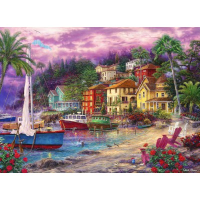 grafika-Puzzle - 300 pieces - Chuck Pinson - On Golden Shores