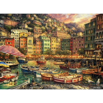 grafika-Puzzle - 2000 pieces - Chuck Pinson - Vibrance of Italy