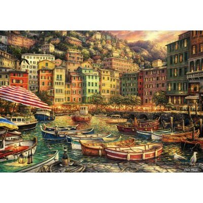 grafika-Puzzle - 1000 pieces - Chuck Pinson - Vibrance of Italy