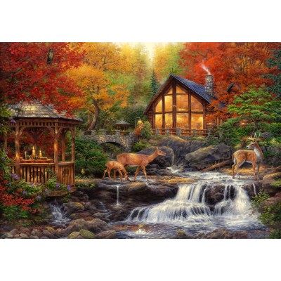 grafika-Puzzle - 1000 pieces - Chuck Pinson - The Colors of Life