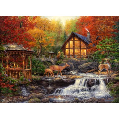grafika-Puzzle - 300 pieces - Chuck Pinson - The Colors of Life