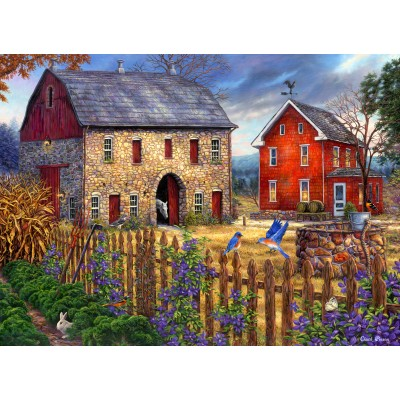 grafika-Puzzle - 300 pieces - Chuck Pinson - The Bluebirds' Song
