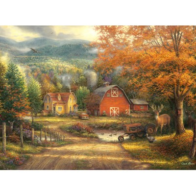 grafika-Puzzle - 2000 pieces - Chuck Pinson - Country Roads Take Me Home