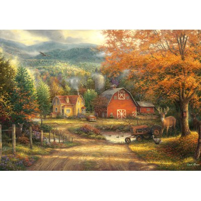 grafika-Puzzle - 1000 pieces - Chuck Pinson - Country Roads Take Me Home