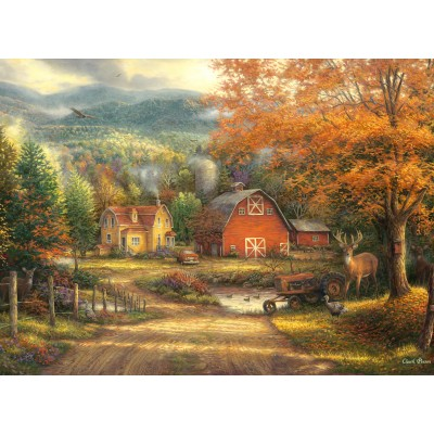 grafika-Puzzle - 300 pieces - Chuck Pinson - Country Roads Take Me Home
