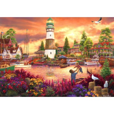 grafika-Puzzle - 1000 pieces - Chuck Pinson - Love Lifted Me