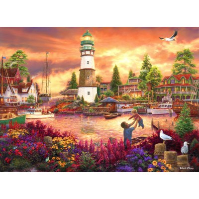 grafika-Puzzle - 300 pieces - Chuck Pinson - Love Lifted Me