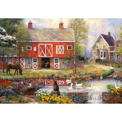 grafika-Puzzle - 1000 pieces - Chuck Pinson - Reflections On Country Living