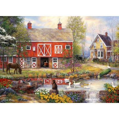 grafika-Puzzle - 300 Teile - Chuck Pinson - Reflections On Country Living