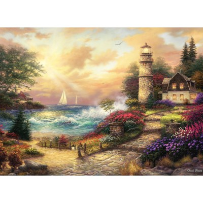 grafika-Puzzle - 300 pieces - Chuck Pinson - Seaside Dreams