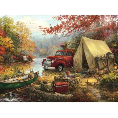 grafika-Puzzle - 2000 pieces - Chuck Pinson - Share the Outdoors