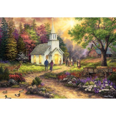 grafika-Puzzle - 1000 pieces - Chuck Pinson - Strength Along the Journey