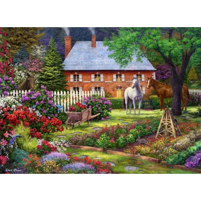 grafika-Puzzle - 300 pieces - Chuck Pinson - The Sweet Garden