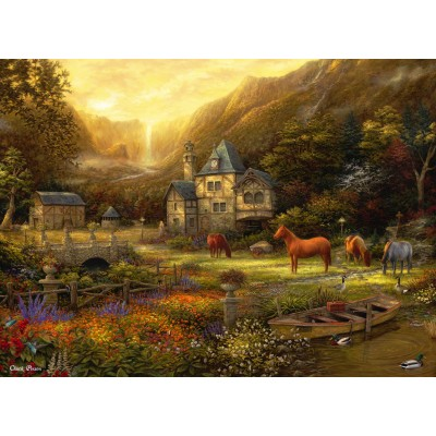 grafika-Puzzle - 300 pieces - Chuck Pinson - The Golden Valley