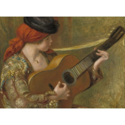 grafika-Puzzle - 2000 pieces - Auguste Renoir - Young Spanish Woman with a Guitar