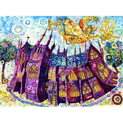 grafika-Puzzle - 2000 pieces - Sally Rich - Cathedral